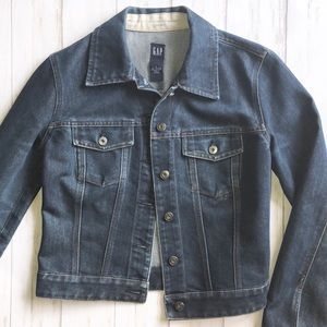 GAP Denim Jean Jacket Womens Small EUC